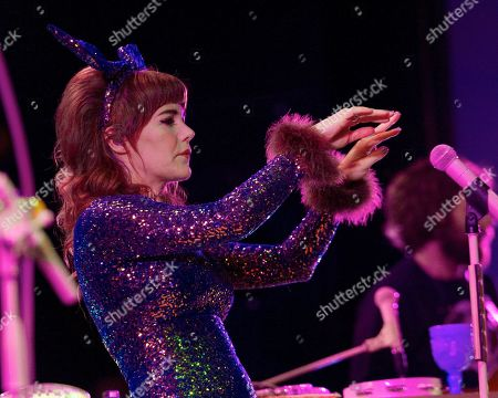 Editorial image of Jenny Lewis in concert at Danforth Music Hall, Toronto, Canada