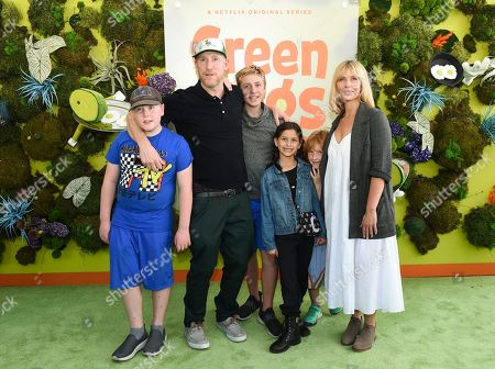 Matt Walsh, Celia Walsh and children