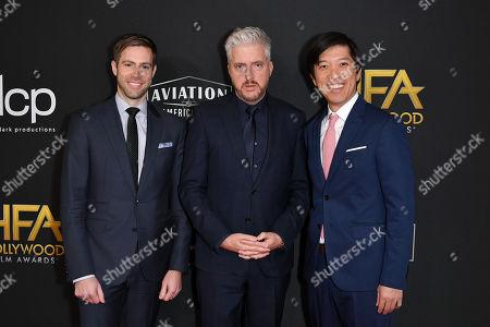 Jonathan Eirich, Anthony McCarten and Dan Lin