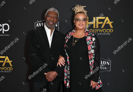 Stock Image of Vondie Curtis-Hall and Kasi Lemmons