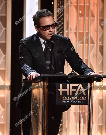 Editorial photo of 23rd Annual Hollywood Film Awards, Show, Beverly Hilton, Los Angeles, USA - 03 Nov 2019