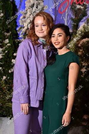 Liv Hewson and Anna Akana