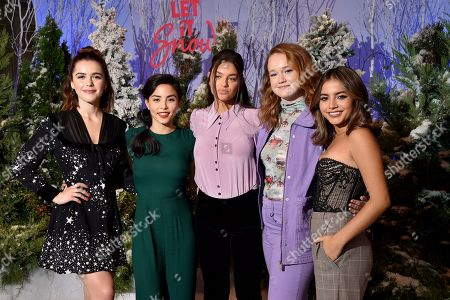 Editorial photo of Netflix's 'Let it Snow' film Photocall, Four Seasons Hotel, Los Angeles, USA  - 01 Nov 2019