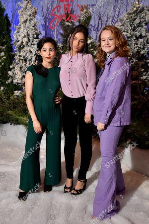 Editorial photo of Netflix's 'Let it Snow' film Photocall, Four Seasons Hotel, Los Angeles, USA  - 01 Nov 2019