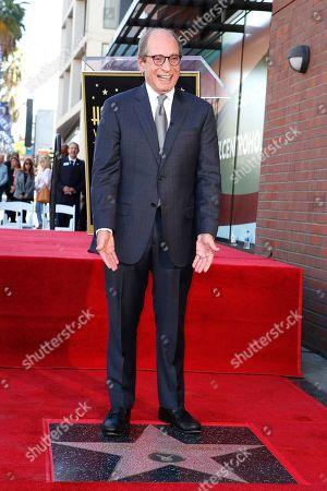 US game show producer Harry Friedman during a ceremony honoring him with a star on the Hollywood Walk of Fame, in Los Angeles, California, USA, 01 November 2019. Friedman received the 2680th star on the Hollywood Walk of Fame, dedicated in the category of Television.
