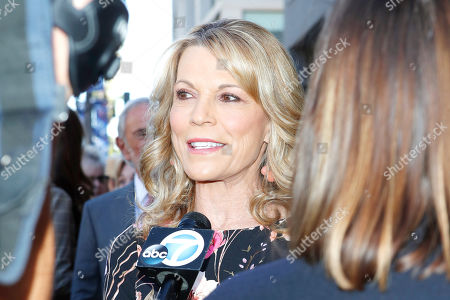 US game show host Vanna White attends a ceremony honoring US game show producer Harry Friedman (unseen) with a star on the Hollywood Walk of Fame, in Los Angeles, California, USA, 01 November 2019. Friedman received the 2680th star on the Hollywood Walk of Fame, dedicated in the category of Television.