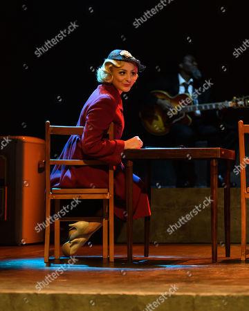 Stock Image of Victoria Hamilton-Barritt (The Woman)
