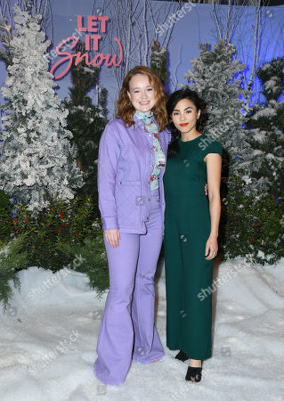 Editorial picture of Netflix's 'Let it Snow' film Photocall, Four Seasons Hotel, Los Angeles, USA - 01 Nov 2019