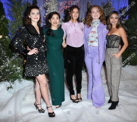 Kiernan Shipka, Anna Akana, Odeya Rush, Liv Hewson and Isabela Moner