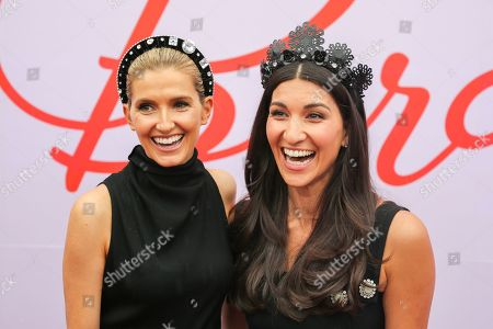 Kate Waterhouse and guest