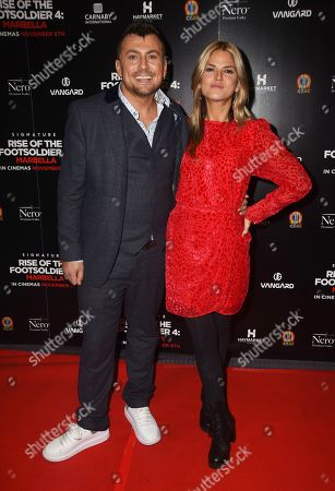 Editorial image of 'Rise of the Footsoldier: Marbella' film premiere, London - 01 Nov 2019