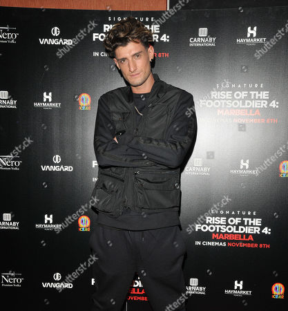 Editorial picture of 'Rise of the Footsoldier: Marbella' film premiere, London - 01 Nov 2019
