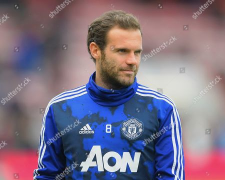 Juan Mata of Manchester United during AFC Bournemouth vs Manchester United, Premier League Football at the Vitality Stadium on 2nd November 2019