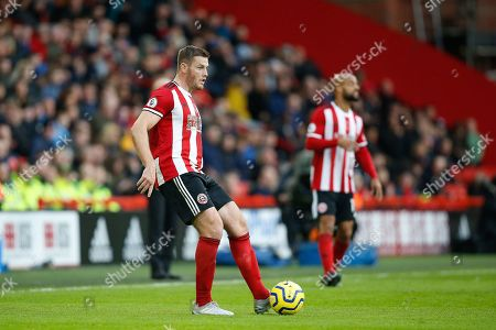 Jack O'Connell of Sheffield United during the Premier League match between Sheffield United and Burnley at Bramall Lane, Sheffield