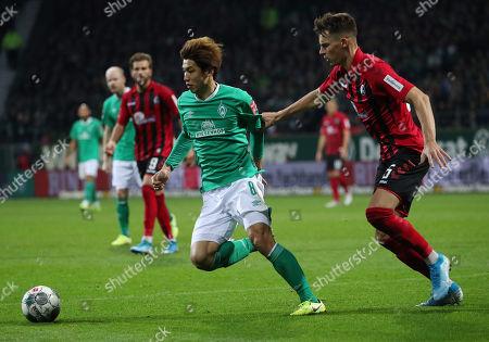 Editorial photo of SV Werder Bremen vs. SC Freiburg, Germany - 02 Nov 2019