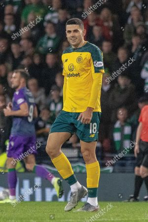 Tom Rogic of Celtic during the Betfred Scottish League Cup semi-final match between Hibernian and Celtic at Hampden Park, Glasgow