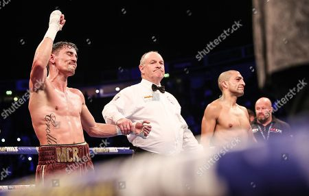 Anthony Crolla vs Frank Urquiaga. Anthony Crolla is declared the winner