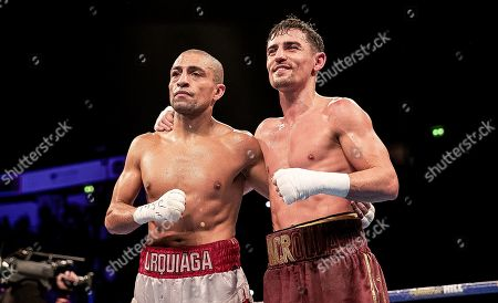 Anthony Crolla vs Frank Urquiaga. Frank Urquiaga and Anthony Crolla
