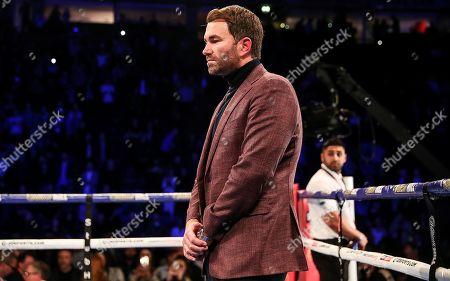 Anthony Crolla vs Frank Urquiaga. Promoter Eddie Hearn