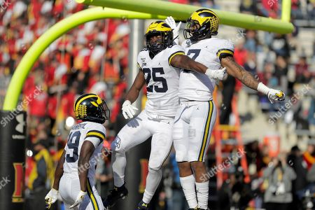 Editorial image of Michigan Maryland Football, College Park, USA - 02 Nov 2019