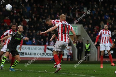 Editorial picture of Cheltenham Town v Forest Green Rovers, EFL Sky Bet League 2 - 02 Nov 2019
