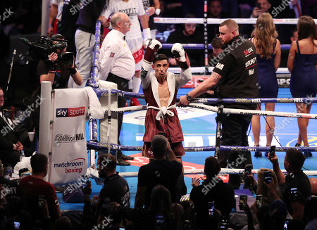 Anthony Crolla enters the ring