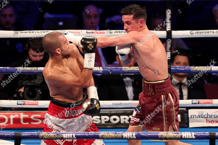 Anthony Crolla fights Frank Urquiaga