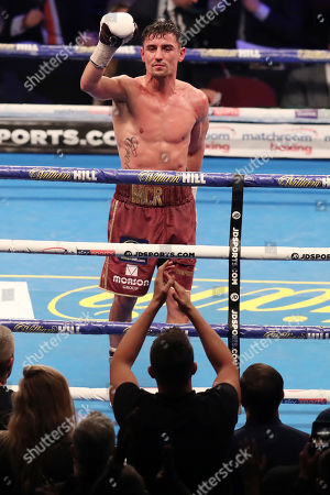 Anthony Crolla at the end of the fight