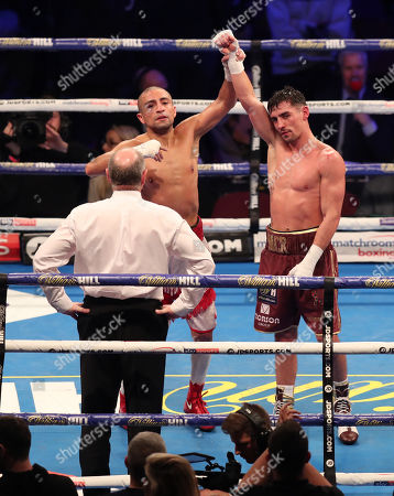 Editorial picture of WBO Super-Lightweight World Title Fight , Boxing, Manchester Arena, Manchester, UK - 02 Nov 2019
