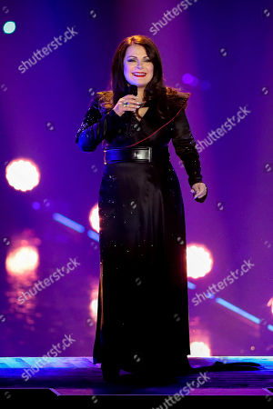 Marianne Rosenberg performs during the TV show 'Schlagerbooom 2019 - Alles funkelt! Alles glitzert!' (lit.: Hit Booom 2019 - everything sparkles, everything glitters) at the Westfalenhalle in Dortmund, Germany, 02 November 2019.