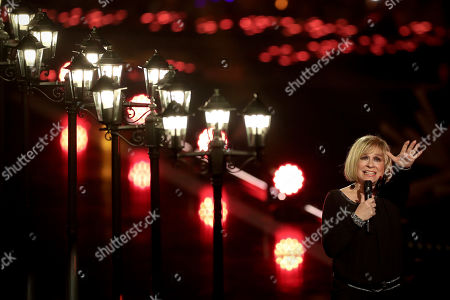 Mary Roos performs during the TV show 'Schlagerbooom 2019 - Alles funkelt! Alles glitzert!' (lit.: Hit Booom 2019 - everything sparkles, everything glitters) at the Westfalenhalle in Dortmund, Germany, 02 November 2019.