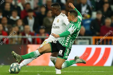 Editorial picture of Real Madrid vs Real Betis, Spain - 02 Nov 2019