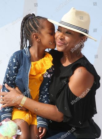 Tanika Ray and Daughter