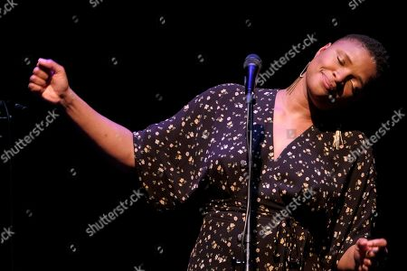 Editorial image of Lizz Wright at Autum Jazz Festival in Las Palmas de Gran Canaria, Spain - 02 Nov 2019