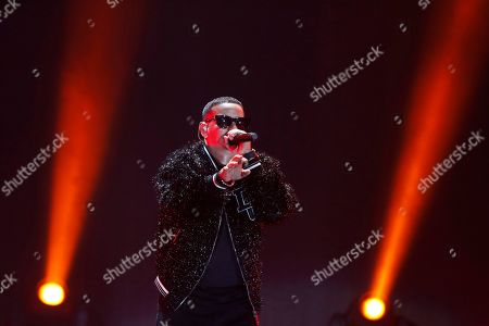 Ramón Luis Ayala Rodríguez, Daddy Yankee. Daddy Yankee performs at the 2019 iHeartRadio Fiesta Latina, in Miami