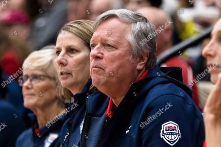 Editorial photo of United States basketball, Stanford, USA - 02 Nov 2019