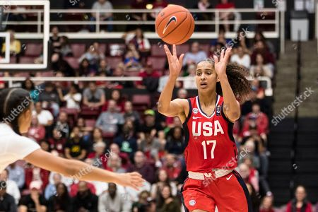 Editorial image of United States basketball, Stanford, USA - 02 Nov 2019