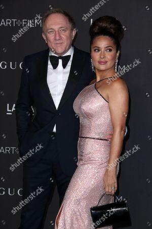 Salma Hayek and Francois Pinault