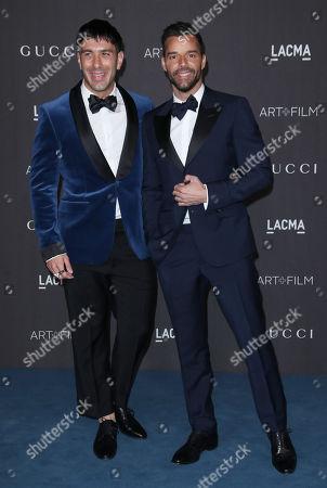 Stock Image of Jwan Yosef and Ricky Martin