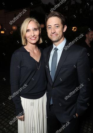 Jennifer Fox and Daniel Jones