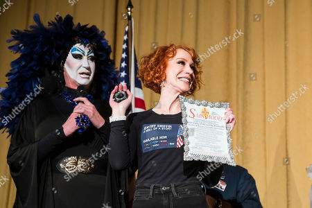 Editorial image of 'Kathy Griffin: A Hell of a Story', Castro Theater, San Francisco, USA - 02 Nov 2019