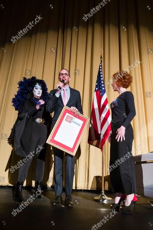 Kathy Griffin, Sister Roma and Scott Wiener