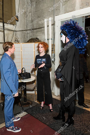 Mark Rhoades, Kathy Griffin and Sister Roma