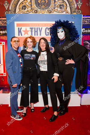 Mark Rhoades, Kathy Griffin, Kate Kendell and Sister Roma