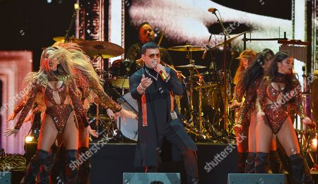Editorial image of iHeartRadio Fiesta Latina, Show, American Airlines Arena, Miami, Florida, USA - 02 Nov 2019