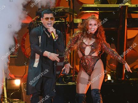Tito El Bambino performs on stage