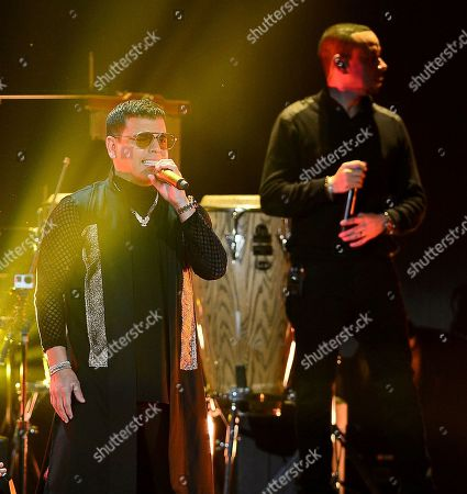 Stock Image of Tito El Bambino performs on stage
