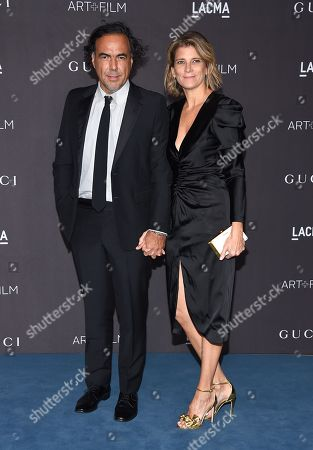Alejandro Gonzalez Inarritu and Maria Hagerman