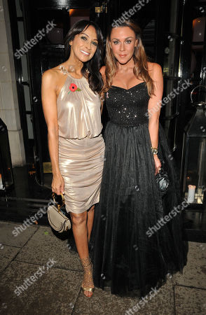 Jackie St Clair and Michelle Heaton