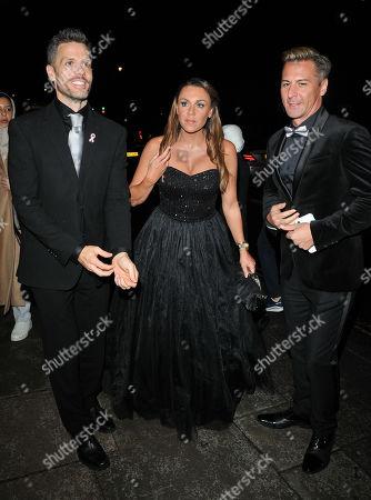 Hugh Hanley, Michelle Heaton and Matt Evers
